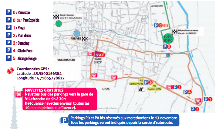 PLAN CIRCULATION MARATHON DU BEAUJOLAIS 2018