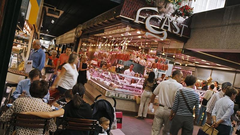 Les Halles de Lyon, mythic indoor food market